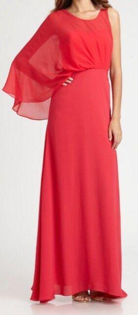 Red Long Dress BCBG