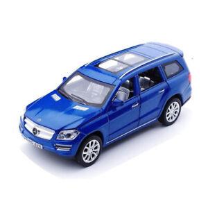 GL500-SUV-1-32-Die-Cast-Modellauto-Spielzeug-Model-Sammlung-Blau