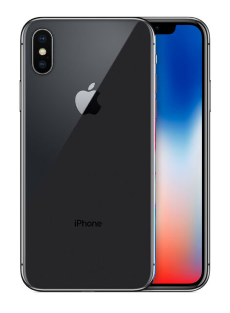 Apple iPhone X 10 -256GB-MQA82XA Space Grey Smartphone AU STOCK *TPU JELLY FREE*