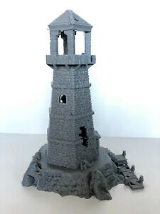 Details about EC3D Depths of Savage Atoll Abandoned Lighthouse Tabletop RPG  Game Terrain