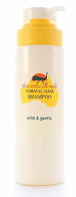 Normal Hair Shampoo with Emu Oil 250ml, natural, non-irritating, free from SLS