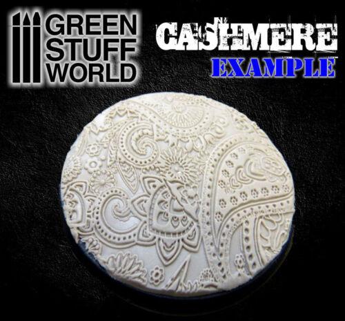 Rouleaux texturés CACHEMIRE outil argile polymère Modélisme fimo sculpey