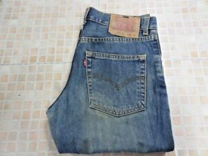 Levi-525-04-Vintage-BOOTCUT-Denim-JEANS-BLUE-Mens-Gents-W28-L30-Grade-A-WB092