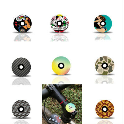 Funny Bike Lightweight Bowl Cover Bicycle Stem Top Cap Headset Co n/_jy