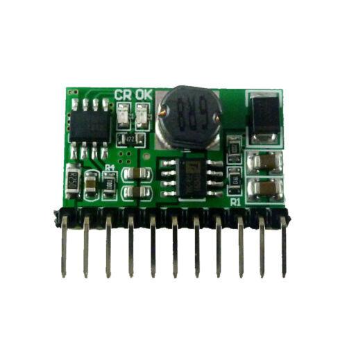 1 Pièces 3.7 V 4.2 V Chargeur et 5 V 6 V 9 V 12 V décharge Board courant continu en courant continu Convertisseur Boost