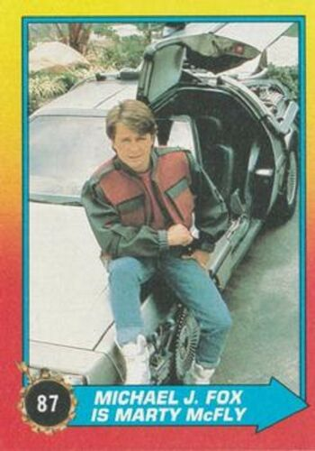 BASIC  CARDS OR STICKERS  CHOOSE  BY TOPPS 1989 BACK TO THE FUTURE II  BASE