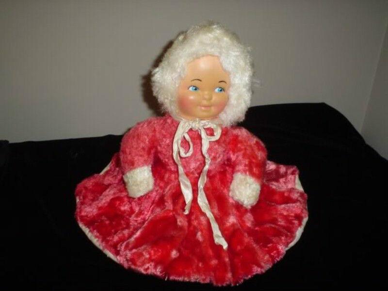 Antique Ganz Bros Doll Zipperosso Pajama Bag Rubber Face 1950s