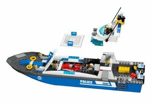 LEGO 7287 City City City Police Boat Play Set RETIRED Brand New and Sealed ad97b2