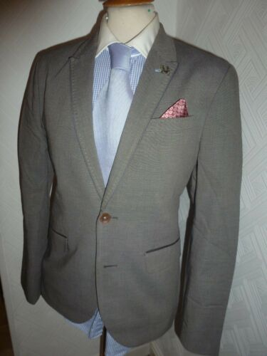 Anchor Waist Mens Suit 31 New 36 London Jacket Baker 30 Grey 5 Ceddjak Leg Ted UHxTYwC