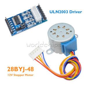 5-12V ULN2003 28BYJ-48 Stepper Motor Module 4 Phase Step Motor for Arduino