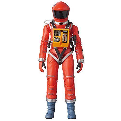 Medicom MAFEX 034 Space Suit orange Ver. 2001 A Space Odyssey Action Figure w T#