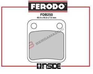 FDB250EF-PASTIGLIE-FRENO-ANT-ORGANICA-YAMAHA-450-QUAD-YFM-WOLVERINE-2006-gt-2010