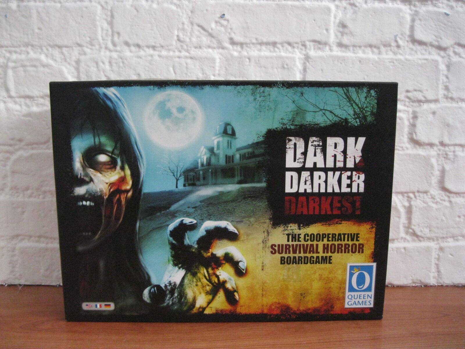 DARK più scuri più oscuri-LA COOPERATIVA horror di  sopravvivenza Gioco da tavolo  MAI USATO   prezzi bassi