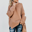 Turtle-Neck-Baggy-Tops-Chunky-Knitted-Oversized-Jumper-Sweater-Women-039-s-Winter thumbnail 17