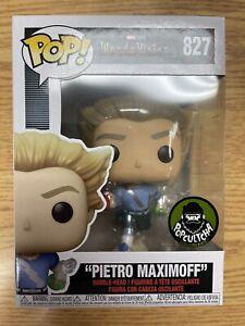 Funko POP Wandavision PIETRO MAXIMOFF Funko Shop In Hand With Popcultcha Sticker