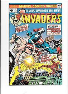The-Invaders-3-November-1975-Captain-America-battles-Namor-the-Sub-Mariner