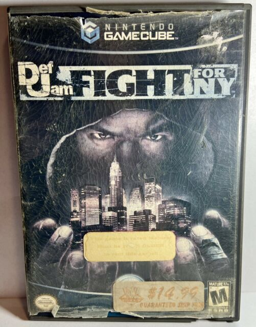 Def Jam: Fight for NY (GameCube) Does Not Work! AS IS For Parts - Ships⚡️Fast!