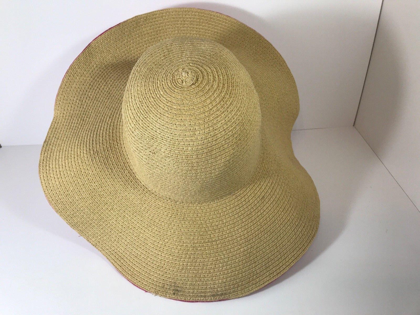 DSY Floppy Hat 100% Paper Straw Classic Straw Hot… - image 7