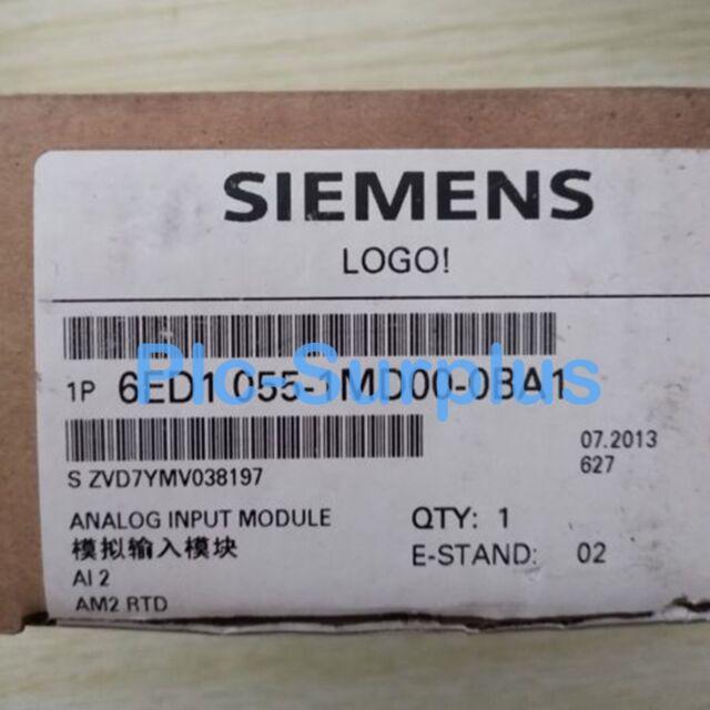 New Siemens 6ED1 055-1MD00-0BA1 6ED1055-1MD00-0BA1 One year warranty