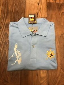 Details about NWT 100% Pinoy Size M Philippines Style Men's Polo Shirt  Manny Pacquiao