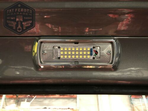 Chevy C10 Truck Polished Aluminum LED Dome Light 1967 1968 1969 1970 1971 1972