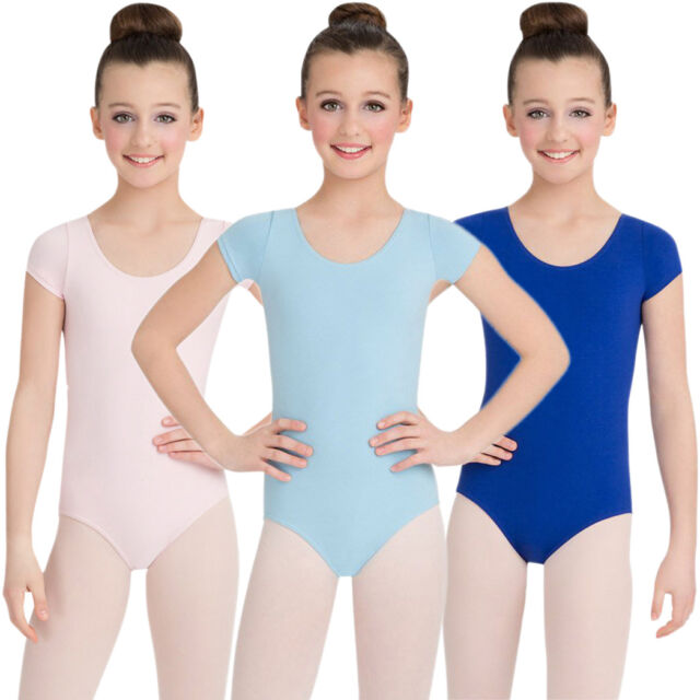 1d6cc916d266 Capezio Classics Childrens Short Sleeve Leotard Lavender for sale ...