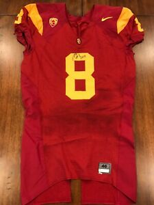 Nick Perry Game Used USC Trojans Jersey Game Worn Jersey Packers ...