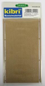 BNIB-OO-HO-GAUGE-KIBRI-34120-IRREGULAR-STONE-WALL-PLASTIC-SHEET-12cm-x-20cm