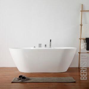 Details zu Freistehende Design Badewanne Modern Armatur Bad Wanne Nahtfrei  170 x 80 cm