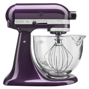 Image Is Loading New Kitchenaid Plumberry Tilt Stand Mixer 5