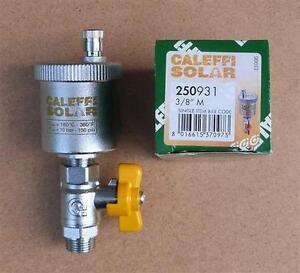 "Caleffi Entlüfter Caleffi  SOLAR+Kugelhahn 3//8/""AG 8232# 250931"