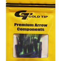 Gold Tip 12pk .246 Gt Series Nock Blue Archery Arrow Replacements