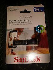 SanDisk iXpand 16GB Lightning USB Flash Drive USB 3.0