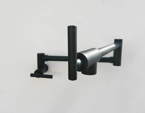 Gunmetal wall mount fold-able pot filler tap cook top watermark colors available