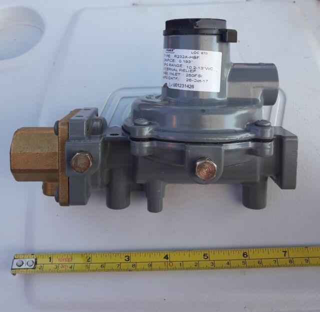 Fisher LP Gas Regulator used