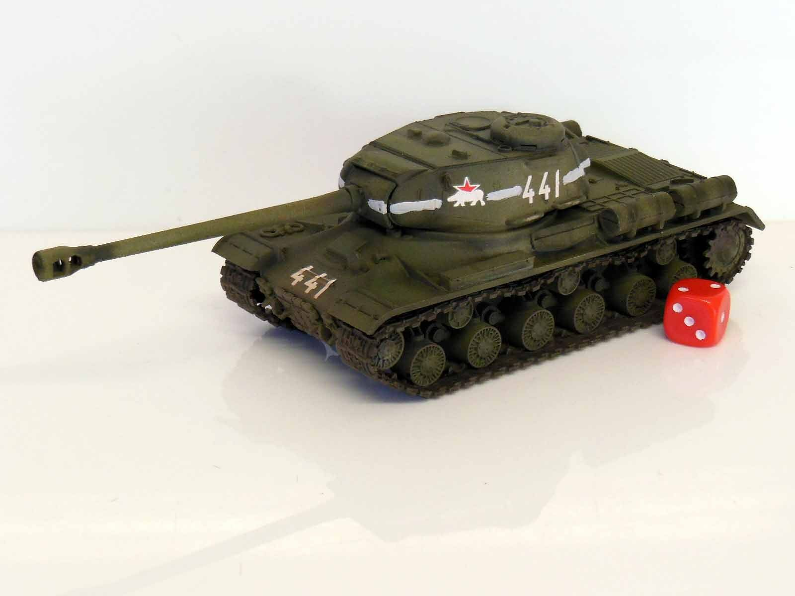 28mm Bolt Action Chain Of Command Soviet IS-2 Heavy Tank Painted & Weathered R3