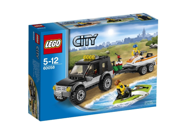 LEGO 60058 City SUV with Watercraft  BRAND NEW