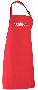 100% Arsenal Fan Apron All Colours Available