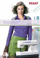 Pfaff Classic Style 1525 Instructions User Guide Manual Color Copy
