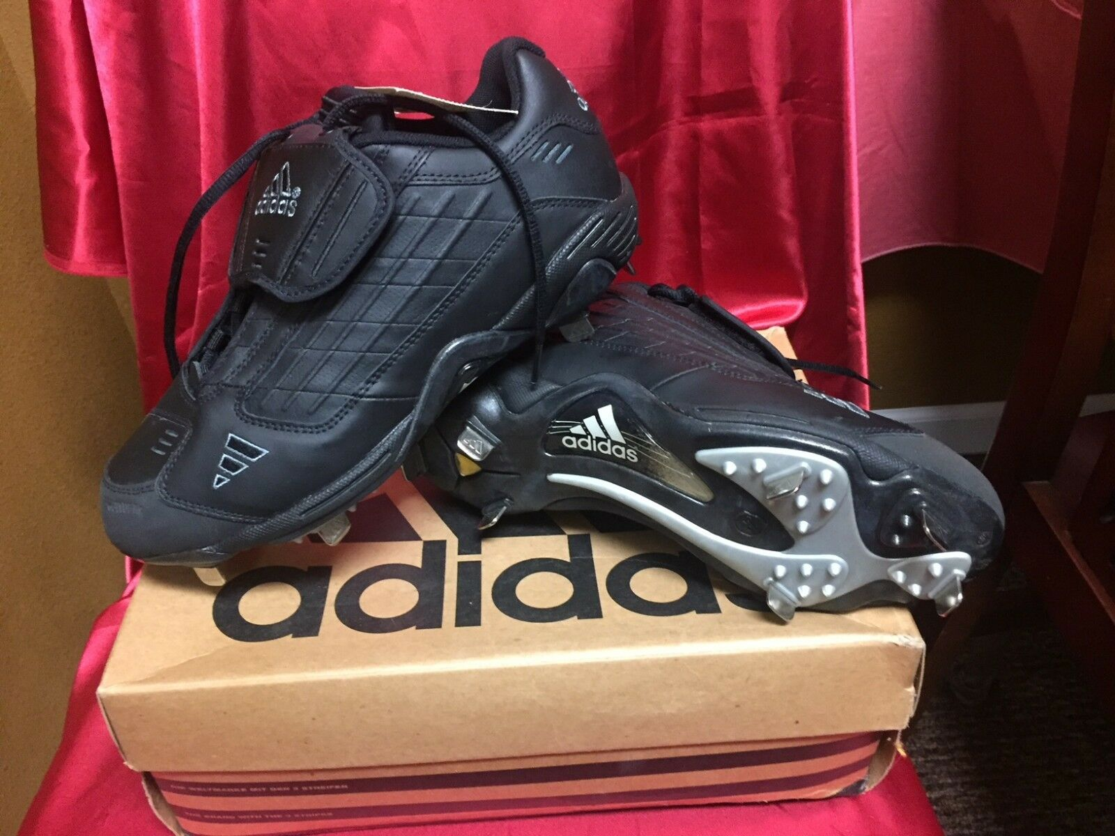 Adidas Baseball Cleats Excelsior Low Men's Size 8D Brand New in Box