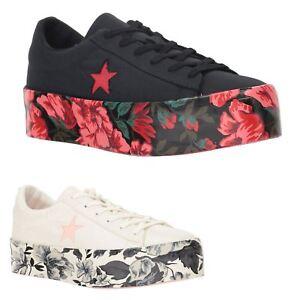 329ecf4de701 Converse One Star Platform Ox Canvas Low-top Sneakers Womens ...