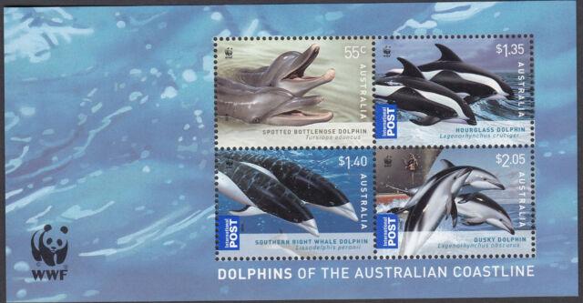 2009 Dolphins of the Australian Coastline  - Mini Sheet MUH