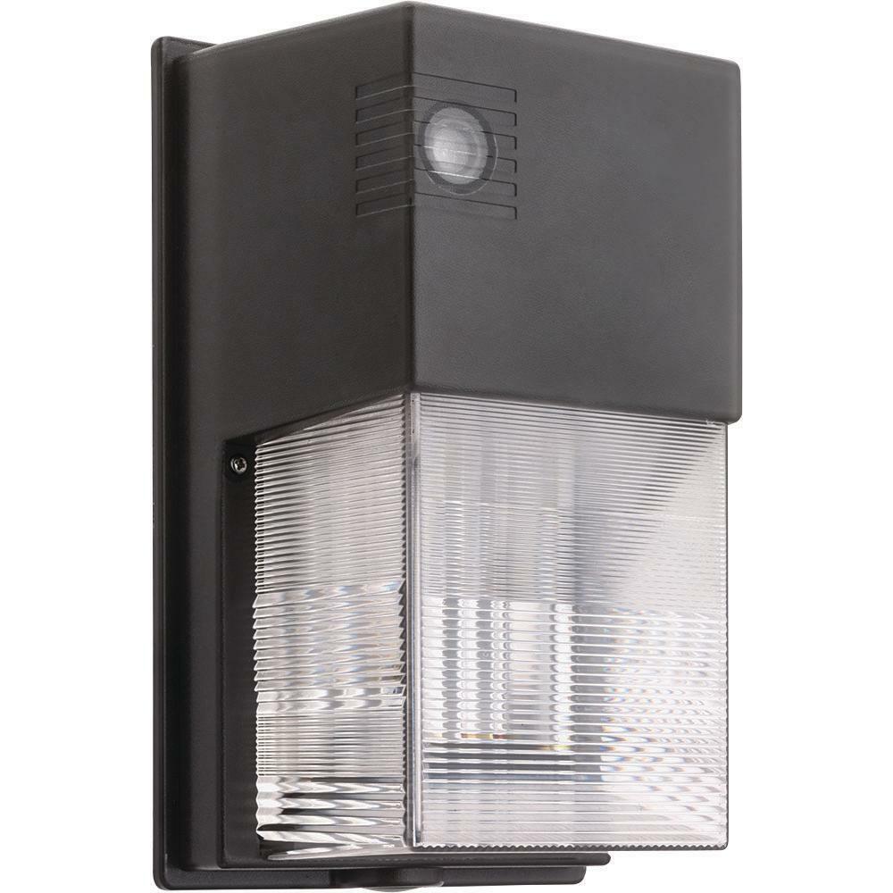 Lithonia Lighting owp bronce al aire libre luz LED Paquete de parojo 5000K integrado