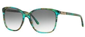 RARE-NEW-Genuine-BVLGARI-SERPENTI-Green-Aqua-Fantasy-Sunglasses-BV-8152B-5340-8E