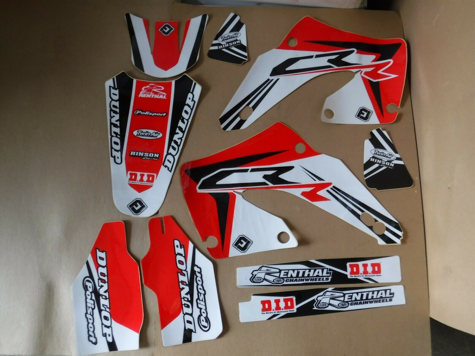 FLU Designs PTS3 graphics Honda CR125 CR125R  CR250 CR250R 2000 2001 8