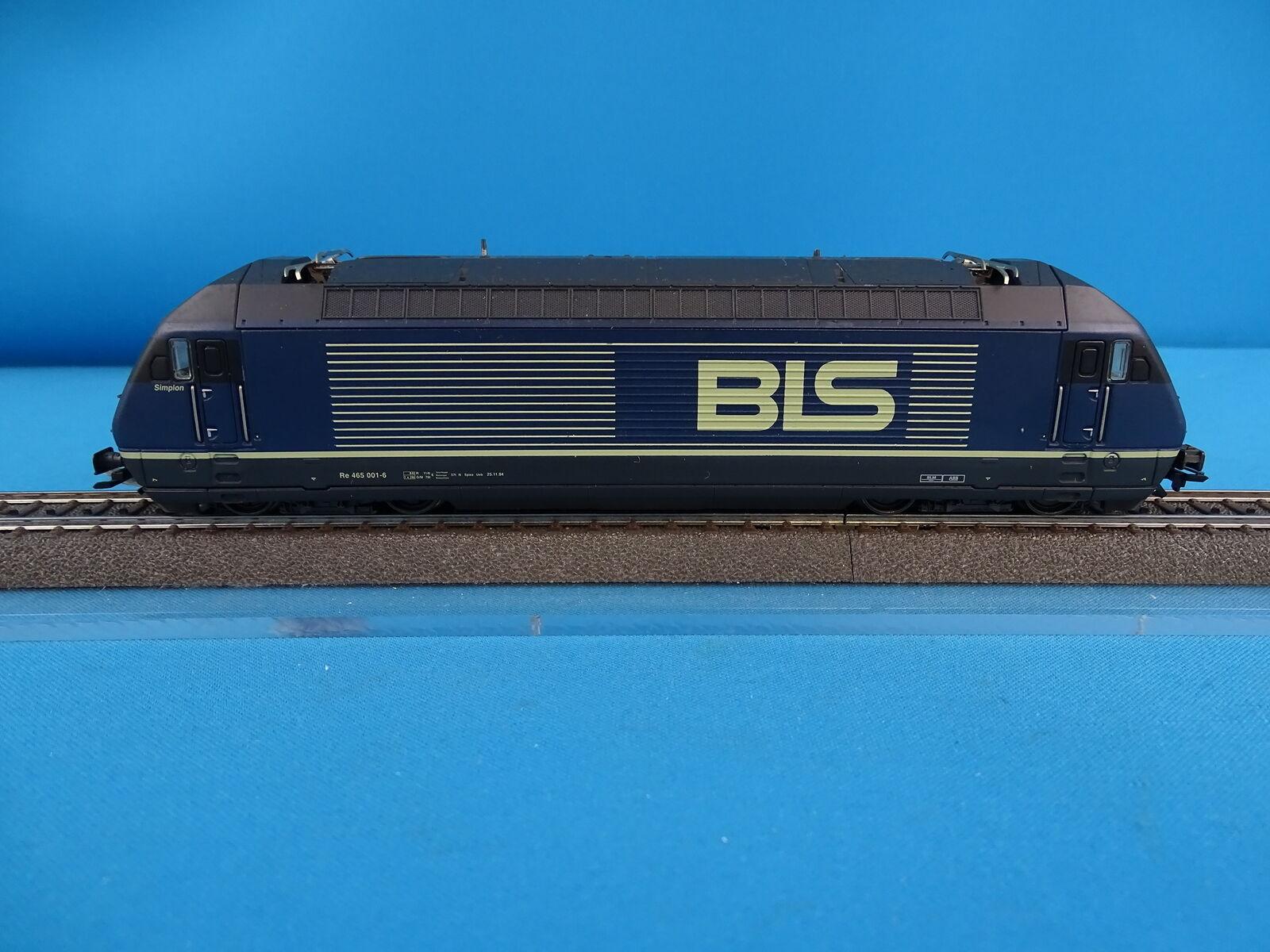 Marklin 3763 BLS Electric Locomotive Br 465 blueE DIGITAL