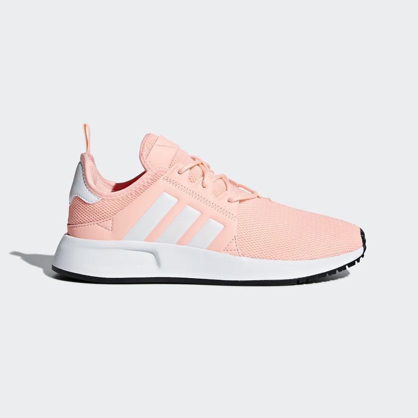 Adidas X_PLR Orange White Grade School Size 4-7 Youth Girls B37818 CLEORA/FTWWHT