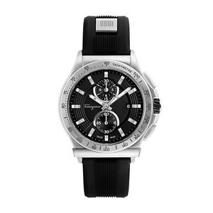 Ferragamo FFJ030017 Men's 1898 Black Quartz Watch