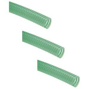 PVC-Saug-Druckschlauch-gruen-mit-Stuetzwendel-verschiedene-Groessen-METERWARE