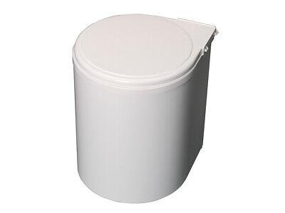 13 Liter Automatischer Abfalleimer Weiß Für Küche Mülleimer Runde Müllbehälter Um Eine Reibungslose üBertragung Zu GewäHrleisten